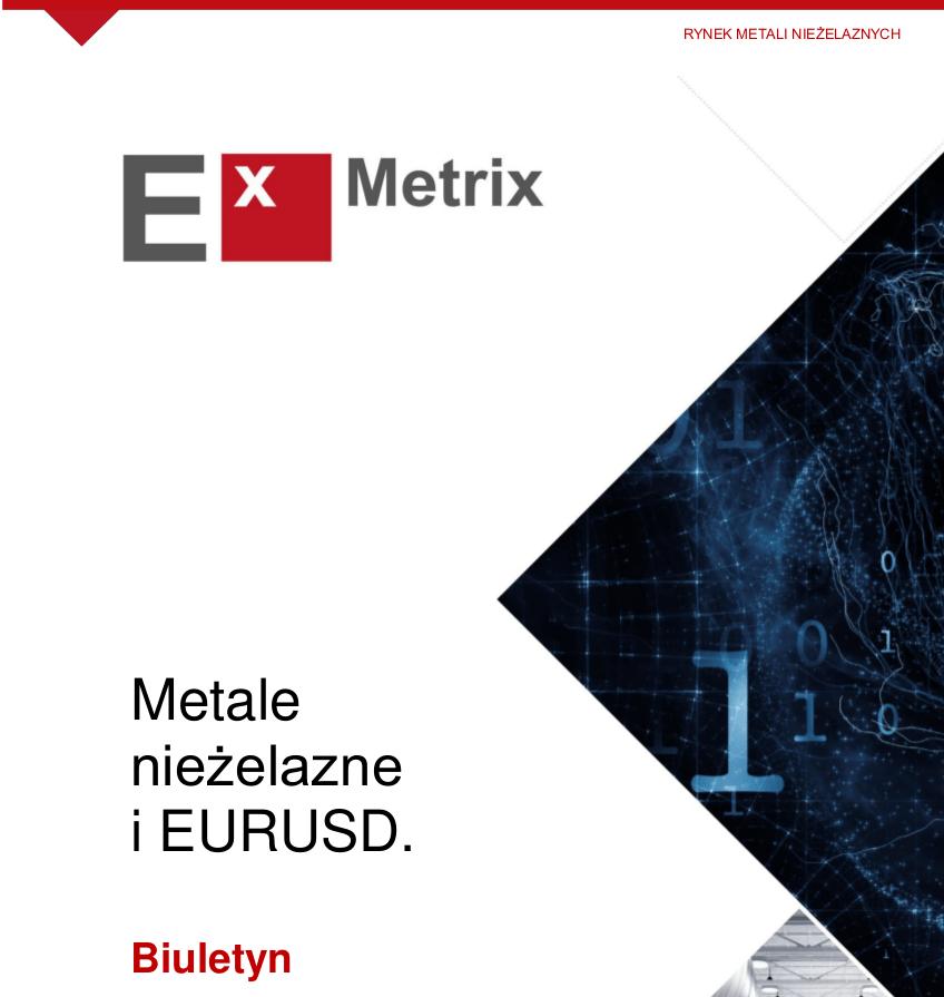 Exmetrix rynek metali nie elaznych i eurusd 05032018 for Metali online